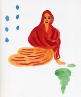 座る女性 02665000008  写真素材・ストックフォト・画像・イラスト素材 アマナイメージズ