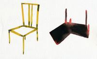 椅子2脚 02665000011  写真素材・ストックフォト・画像・イラスト素材 アマナイメージズ