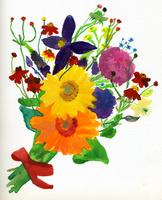 花束 02665000017  写真素材・ストックフォト・画像・イラスト素材 アマナイメージズ
