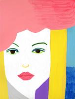 女性のアップ 02665000022  写真素材・ストックフォト・画像・イラスト素材 アマナイメージズ