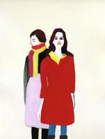 二人の女性 02665000023  写真素材・ストックフォト・画像・イラスト素材 アマナイメージズ