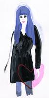 ハートを持った女性 02665000050  写真素材・ストックフォト・画像・イラスト素材 アマナイメージズ