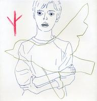 女性と鳥 02665000052  写真素材・ストックフォト・画像・イラスト素材 アマナイメージズ