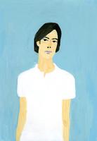 白いシャツを着た男性 02665000057  写真素材・ストックフォト・画像・イラスト素材 アマナイメージズ