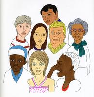 さまざまな人種 02665000077  写真素材・ストックフォト・画像・イラスト素材 アマナイメージズ