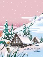 白河郷 02694000253| 写真素材・ストックフォト・画像・イラスト素材|アマナイメージズ