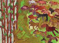 馬群 20020001313| 写真素材・ストックフォト・画像・イラスト素材|アマナイメージズ