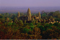 Overview of Landscape and Angkor Wat 20025052648| 写真素材・ストックフォト・画像・イラスト素材|アマナイメージズ