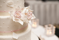 Close-Up of Wedding Cake