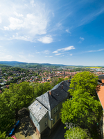 Germany, Saxony-Anhalt, Wernigerode, old town, view from Wernigerode Castle 20025331706| 写真素材・ストックフォト・画像・イラスト素材|アマナイメージズ