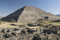 Temple of the Sun, Archaeological Zone of Teotihuacan, UNESCO World Heritage Site, Mexico, North America 20025363148| 写真素材・ストックフォト・画像・イラスト素材|アマナイメージズ