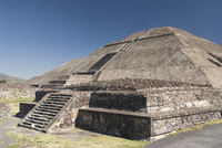 Temple of the Sun, Archaeological Zone of Teotihuacan, UNESCO World Heritage Site, Mexico, North America 20025363149| 写真素材・ストックフォト・画像・イラスト素材|アマナイメージズ