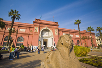 Exterior, The Museum of Egyptian Antiquities (Egyptian Museum), Cairo, Egypt, North Africa, Africa 20025363488| 写真素材・ストックフォト・画像・イラスト素材|アマナイメージズ