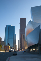 Walt Disney Concert Hall, Downtown, Los Angeles, California, United States of America, North America 20025364975| 写真素材・ストックフォト・画像・イラスト素材|アマナイメージズ