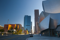 Walt Disney Concert Hall, Downtown, Los Angeles, California, United States of America, North America 20025364976| 写真素材・ストックフォト・画像・イラスト素材|アマナイメージズ