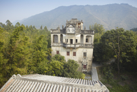 Changlu Villa in Majiang Long village, UNESCO World Heritage Site, Kaiping, Guangdong, China, Asia 20025369603| 写真素材・ストックフォト・画像・イラスト素材|アマナイメージズ