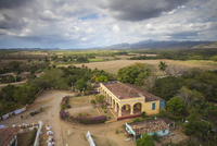 View of Hacienda from the Slave Tower, Valle de los Ingenios (Valley of the Sugar Mills), UNESCO World Heritage Site, Trinidad, 20025382470| 写真素材・ストックフォト・画像・イラスト素材|アマナイメージズ