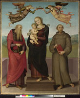 The Virgin and Child with Saints Jerome and Francis 20036000163| 写真素材・ストックフォト・画像・イラスト素材|アマナイメージズ