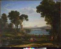 Landscape with the Marriage of Isaac and Rebecca 20036000525| 写真素材・ストックフォト・画像・イラスト素材|アマナイメージズ