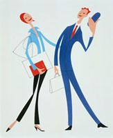 女性と男性 20037001197| 写真素材・ストックフォト・画像・イラスト素材|アマナイメージズ