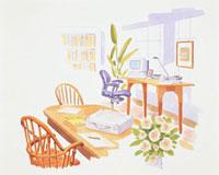 ホームオフィス 20037004498| 写真素材・ストックフォト・画像・イラスト素材|アマナイメージズ