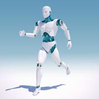 White android running  20039003508| 写真素材・ストックフォト・画像・イラスト素材|アマナイメージズ