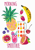 Fresh fruit ingredients for healthy morning smoothie 20039009434| 写真素材・ストックフォト・画像・イラスト素材|アマナイメージズ