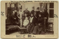 King Edward VII and his family (Alexander William George Duf 20043000688| 写真素材・ストックフォト・画像・イラスト素材|アマナイメージズ