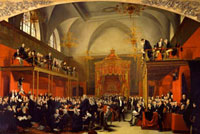 The Trial of Queen Caroline 1820 (also includes Henry Peter 20043001208| 写真素材・ストックフォト・画像・イラスト素材|アマナイメージズ