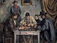 The Card Players (Les Joueurs de Cartes),1890-1892 20044000098| 写真素材・ストックフォト・画像・イラスト素材|アマナイメージズ
