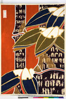 友禅図案(冬模様友禅図案集より) 20046004913| 写真素材・ストックフォト・画像・イラスト素材|アマナイメージズ