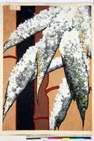 友禅図案(冬模様友禅図案集より) 20046004928| 写真素材・ストックフォト・画像・イラスト素材|アマナイメージズ