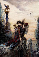 Sappho, by Gustave Moreau. France, early 19th century 20048002721| 写真素材・ストックフォト・画像・イラスト素材|アマナイメージズ