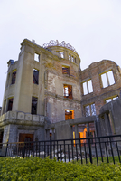 A-Bomb Dome, symbol of the destruction the A-Bomb Dome (Gembaku Domu), UNESCO World Heritage Site, Hiroshima, Honshu, Japan, Asi 20062012038| 写真素材・ストックフォト・画像・イラスト素材|アマナイメージズ