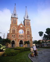 Notre Dame Cathedral, Ho Chi Minh City (formerly Saigon), Vietnam, Indochina, South East Asia, Asia 20062012290| 写真素材・ストックフォト・画像・イラスト素材|アマナイメージズ