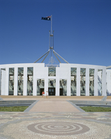 Exterior of the new Parliament building, Canberra, Australian Capital Territory (ACT), Australia, Pacific 20062018355| 写真素材・ストックフォト・画像・イラスト素材|アマナイメージズ