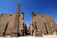 Luxor Temple, Luxor, Thebes, UNESCO World Heritage Site, Egypt, North Africa, Africa 20062020326| 写真素材・ストックフォト・画像・イラスト素材|アマナイメージズ