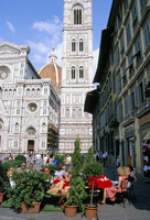 Cathedral bell tower (Campanile), Florence, UNESCO World Heritage Site, Tuscany, Italy, Europe 20062022593| 写真素材・ストックフォト・画像・イラスト素材|アマナイメージズ