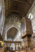 Nave and organ from the choir, Dunblane Cathedral, Dunblane, Stirling, Scotland, United Kingdom, Europe 20062026088| 写真素材・ストックフォト・画像・イラスト素材|アマナイメージズ