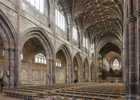 Chester Cathedral, interior looking Northeast, Cheshire, England, United Kingdom, Europe 20062026120| 写真素材・ストックフォト・画像・イラスト素材|アマナイメージズ