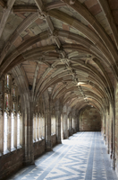 Cloister, Worcester Cathedral, Worcester, England, United Kingdom, Europe 20062026143| 写真素材・ストックフォト・画像・イラスト素材|アマナイメージズ