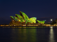 Festival of Light, Sydney Opera House, UNESCO World Heritage Site, Sydney, New South Wales, Australia, Pacific 20062029299| 写真素材・ストックフォト・画像・イラスト素材|アマナイメージズ