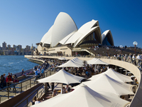 Sydney Opera House, UNESCO World Heritage Site, Sydney, New South Wales, Australia, Pacific 20062029411| 写真素材・ストックフォト・画像・イラスト素材|アマナイメージズ