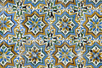 Azulejos tiles in the Mudejar style, Casa de Pilatos, Santa Cruz district, Seville, Andalusia (Andalucia), Spain, Europe 20062032624| 写真素材・ストックフォト・画像・イラスト素材|アマナイメージズ