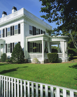 Fisher House, an elegant sea captain's house dating from 1840, Martha's Vineyard, Cape Cod, Massachusetts, New England, USA, Nor 20062035330| 写真素材・ストックフォト・画像・イラスト素材|アマナイメージズ