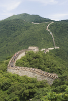 Great Wall of China, UNESCO World Heritage Site, in summer time, Mutianyu, near Beijing, China, Asia 20062046982| 写真素材・ストックフォト・画像・イラスト素材|アマナイメージズ