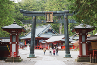 Torii gate, Nikko shrine, UNESCO World Heritage Site, Tochigi Prefecture, Honshu, Japan, Asia 20062048529| 写真素材・ストックフォト・画像・イラスト素材|アマナイメージズ