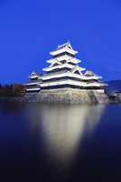 Matsumoto Castle (The Crow Castle) built in 1594, Matsumoto, Nagano Prefecture, Honshu, Japan, Asia 20062048536| 写真素材・ストックフォト・画像・イラスト素材|アマナイメージズ