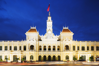Hotel de Ville (City Hall), Ho Chi Minh City (Saigon), Vietnam, Indochina, Southeast Asia, Asia 20062049048| 写真素材・ストックフォト・画像・イラスト素材|アマナイメージズ