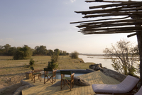 Kalamu Tented Camp, South Luangwa National Park, Zambia, Africa 20062050914| 写真素材・ストックフォト・画像・イラスト素材|アマナイメージズ